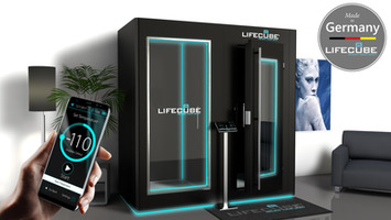 LifeCube® - Electric Whole Body Cryo Chamber